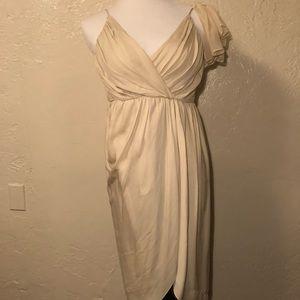 Alice + Olivia Lined Silk Cocktail Dress Strap